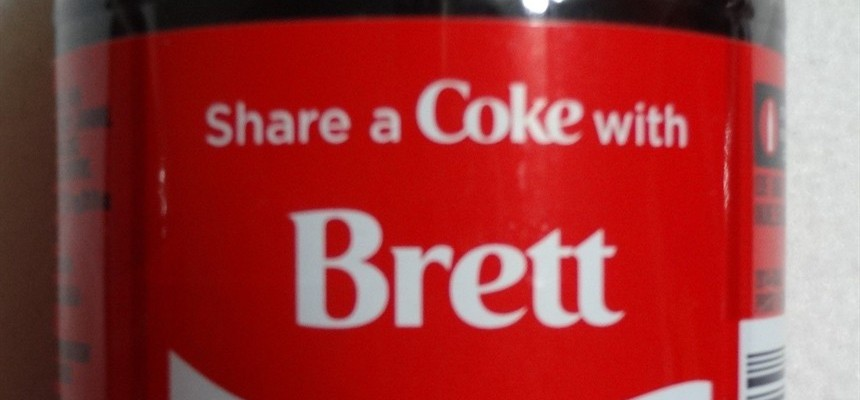 Sharing a Coke with Brett and Helping the Holy Souls