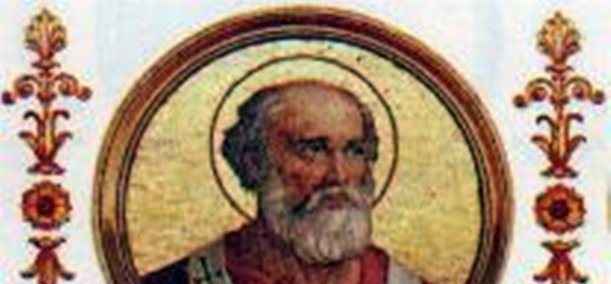POPE BENEDICT II, A WELL-TRAINED SINGER