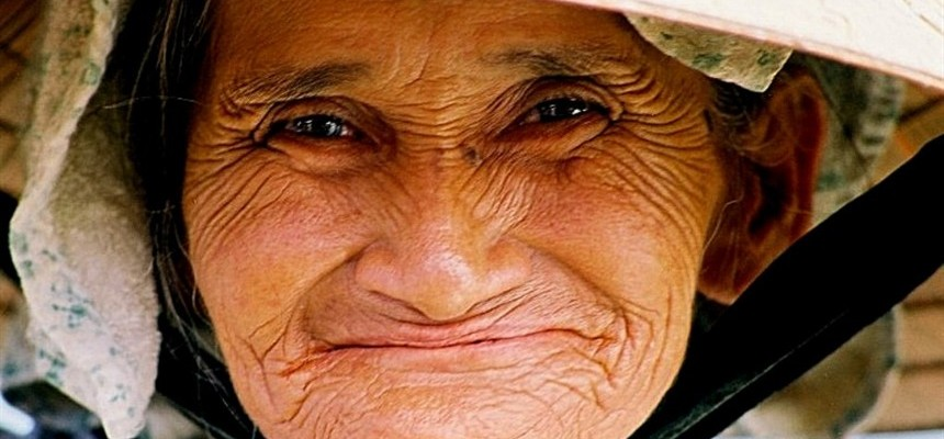 Living is Aging with Wrinkles