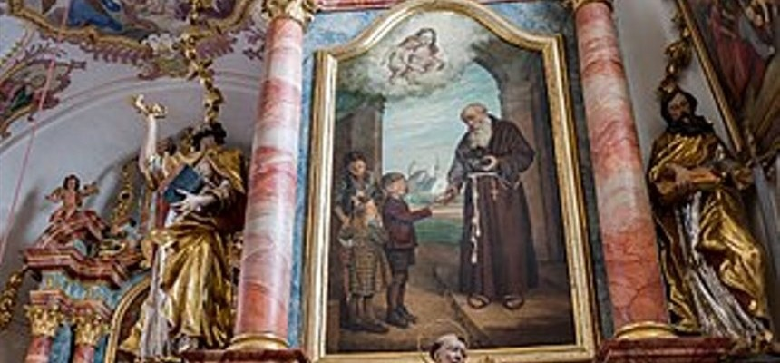 "St. Conrad of Parzham:  He served Our Lady for over 40 years as a porter: His permanent ""pension"" was  Sainthood"