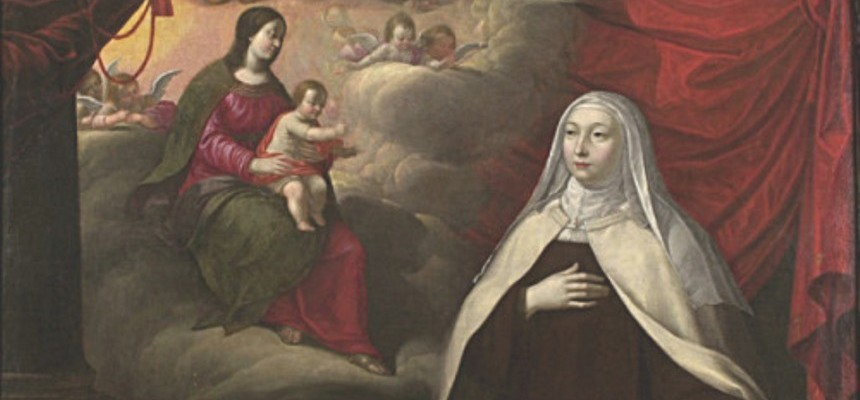 """Saint Marie of the Incarnation---the """"Mother of the Catholic Church in Canada"""""""