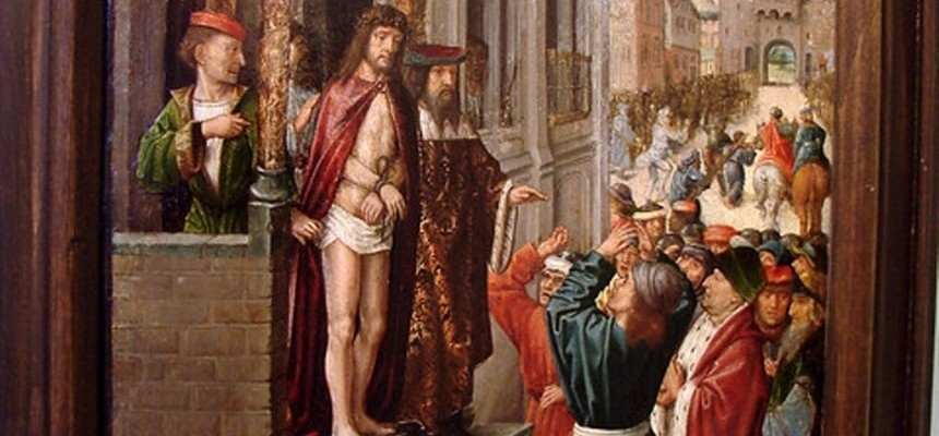 Pontius Pilate Sneers in the Face of Truth