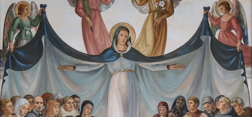 Give me an army saying the Rosary and we will conquer the world.