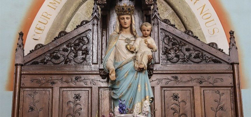 """""""Let the storm rage and the sky darken - not for that shall we be dismayed. If we trust as we should in Mary, we shall recognize in her, the Virgin Most Powerful """"who with virginal foot did crush the head of the serpent."""""""