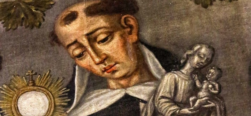 """St. Hyacinth of Poland; This """"Apostle of the North"""" saved the Holy Eucharist and the Blessed Virgin from destruction by walking them across a river"""