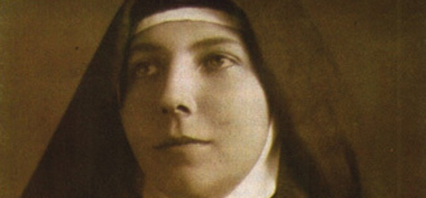 Meet St. Teresa of Jesus Jornet---She founded an order strictly to help the elderly; today it has facilities serving the poor elderly all over the world