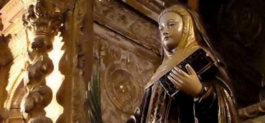 This Legendary Saint is revered in Portugal, and is Patroness of Tomar, which is next to Fatima