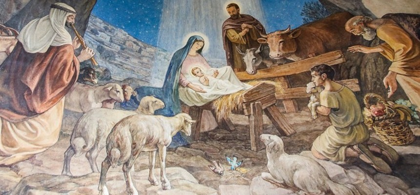 Christmas Wishes with St Francis of Assisi
