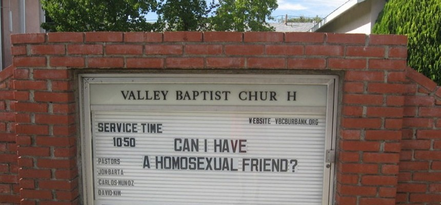 Maybe---This Explains 'It'---Homosexuality.