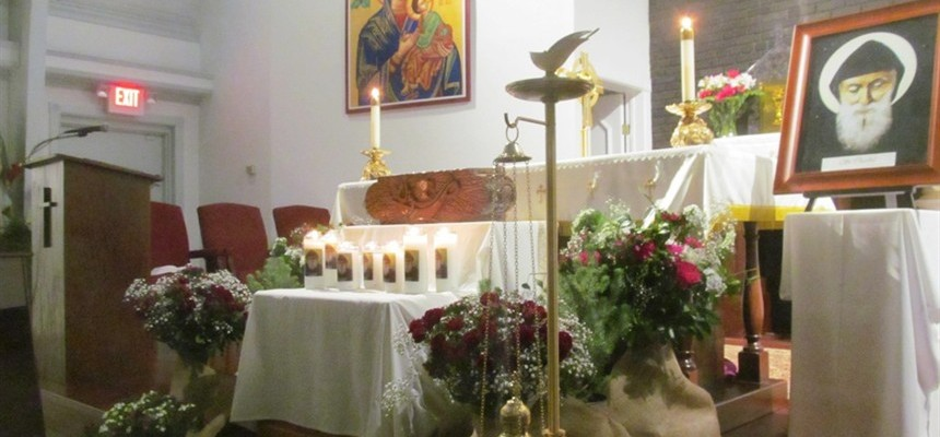 Praying with the Bones of St. Charbel