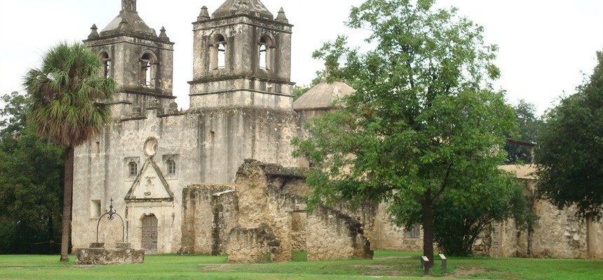 Missions of San Antonio -- something to see.... plus Shrine of St. Therese!