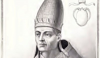POPE VITALIAN, TRYING TO EASE TENSIONS