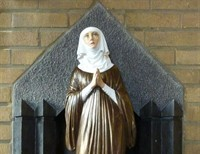 Saint Alice: The Patroness of the Blind and Paralyzed entered the Cistercian Order at the age of Seven