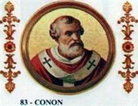 POPE CONON, THE HANDSOME POPE