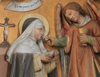 "St. Agnes of Montepulciano---St. Catherine of Siena called her, ""Our Mother, the Glorious Agnes."""