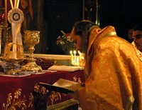 "The Holy Eucharist;  ""Absolutely Real Flesh - Absolutely Real Blood"""