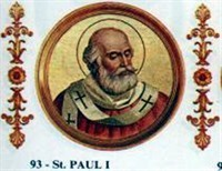 POPE SAINT PAUL I, GROWTH OF THE PAPAL STATES