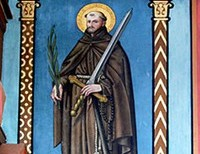 From Attorney to Priest and Martyr; meet Saint Fidelis of Sigmaringen.