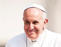 "On Pope Francis' favourite words, ""Joy and Mercy""..."