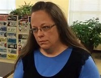 So the Pope met Kim Davis