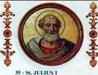 Pope Saint Julius I, Defender Of Orthodoxy