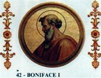 Pope Boniface I And The Fifth Schism