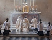 The best way to economize time is to 'lose' half an hour each day attending Holy Mass.