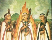 The Children Martyrs of Tlaxcala (Mexico)