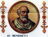 Pope Benedict I, Against The Lombards
