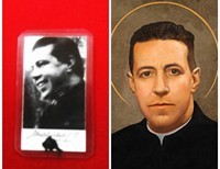 St. Alberto Hurtado,  S.J.   Honored by Pope Francis; He is the Patron St. of poor people, street children, and social workers.