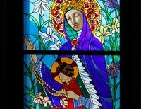 Catholics Don't Worship Mary And The Saints, We Venerate Them.