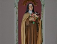St. Therese and St. Elizabeth of Trinity....